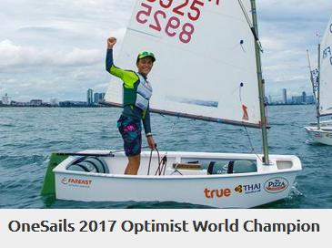 Onesails 2017 optimist world champion